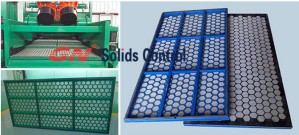 Replacement shale shaker screens