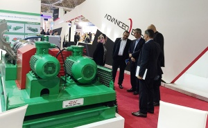 GN centrifuge at iran oil show