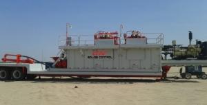 Mobile mud system